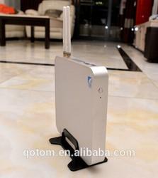 2015 hottest mini pc, intel core i3 mini computer, QOTOM-T4010U 2G ram 256G SSD+wifi+bluetooth