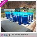 Châssis métallique piscine intex coustomized, higtht qualité piscine cadre