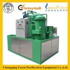 Magnetic field purification used oil filtering machine