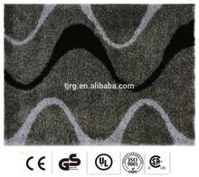 elegant exhibition printed customized fashion silk area rugs