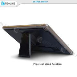 slim and soft tpu + pu leather case for ipad mini 3,soft case for ipad mini with stand