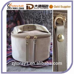 Custom Cute Round Bulk Cosmetic Bag Cosmetic Case