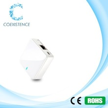 Hot sale150Mbps Mini Wireless WiFi router support 802.11b/g/n with WAN/LAN port