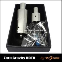 2015China suppliers Rebuidable Full Stainless vapor mod Zero Gravity RDTA from Winsmoke