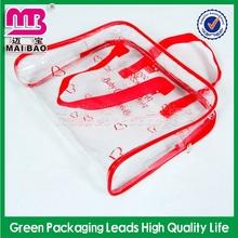 custom advertising drawstring mesh cosmetic bags