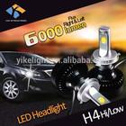 New Arrival h4 led car headlight 5000k led white lamp h4 replace xenon h4