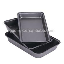 3pc Roasting/Baking Pan Set