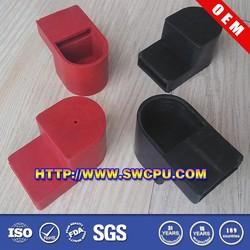 Rubber cap button