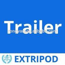 Extripod supply aluminum snowmobile trailer one year warranty