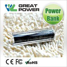 Design best selling 2600mah mini power bank lipstick