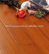 Popular Modern Style Beautiful Color Burma Teak Flooring Solid Wooden Flooring