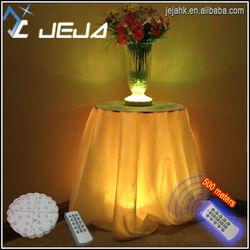 best quality led base JEJA patent led base Wedding Decoration Remote Controlled 6inch Led Crystal Candelabra