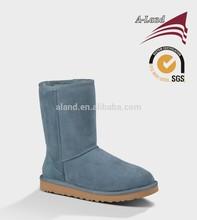 Classic short 5825 Blue Cow suede Australia sheepskin real fur Snow boots