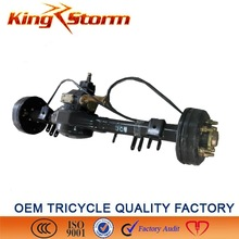 China King-Storm Motorcycle 180/220drum 4/5 hole big rooster electric tricycle rear differential axle