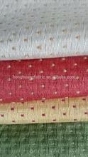 polyester cotton dots design sofa fabric