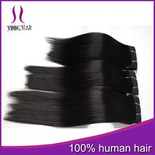 6A Top Quality Double drawn Brazilian 100% Remy Human Hair Extension Tangle Free Wholesale