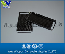 3k twill glossy Carbon fiber phone cover