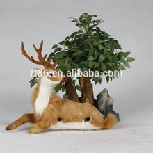 Pakistani plastic deer home decoration pieces