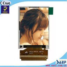 "1.77"" small lcd display with MPU 8-Bit interface with Soldering type Portrait type 128*160 without Resistive Touch panel LCM"