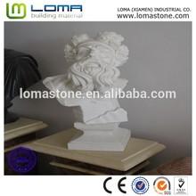 Loma haute qualité marbre buste, Western personnes tête statue