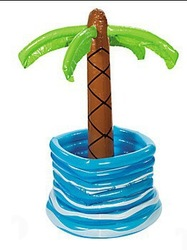 palm tree inflatable beer ice coolers for sale