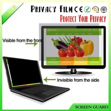 Premium 0.65mm thickness 3M dust-proof anti-scratch anti-spy protective film for laptop/computer/tablet/ipad