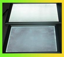 silver/ivory white frame round led panel aluminum alloy and LGP