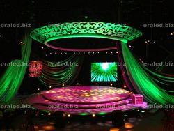 Large 3D LED display solar powered gate lights RGB 3D LED display