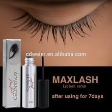 MAXLASH Natural Eyelash Growth Serum (professional eyelash extension tweezers)