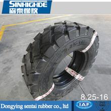 Resistant to stab Pattern E3/L3 PR 12 Bias Rubber Tire 8.25-16