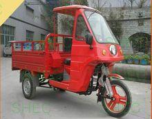 Motorcycle 400cc gasoline three wheel cargo motorcycle