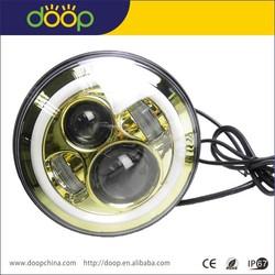Best priced 12V led off road lights for jeed 7'' jeed led head lights