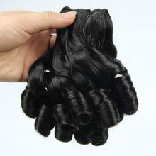 YIWU YILU Cheap Human Hair ,Candy Curl Human Weaving Hair,