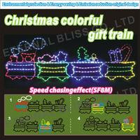 AC100V PSE taiwan multifunction outdoor christmas train light