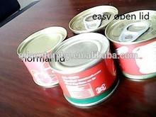 Brix 28%-30% canned packing tomato paste/peeled tomato/tomato puree