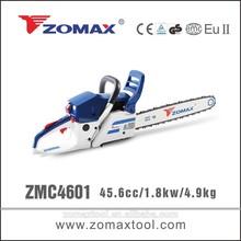 lightweight wheelbarrow 45.6cc ZMC4601 1.8kw harvesting timber to garden supplies for tree pruning
