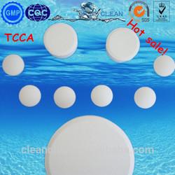Swimming pool water treatment Trichloroisocyanuric acid,TCCA 90% granular