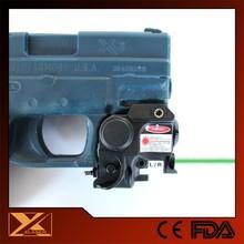 SubCompact lightweight LED light plus pistol green laser