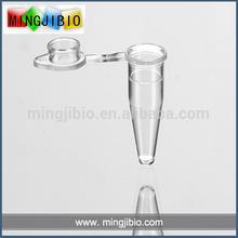Graduated plastic pcr tube chemistry laboratory apparatus