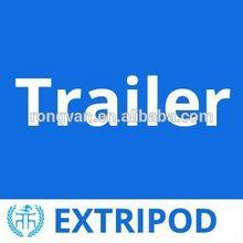 Extripod boat trailer hitches led light
