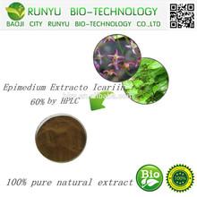 Pure natura Epimedium extract/ 10% 20% 50% 60% 80% 98% epimedium extracto icariin / Epimedium grandiflorum