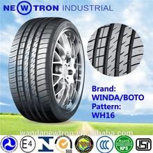 205/50R16 winda boto pcr manufacturer cheap price UHP car tyre