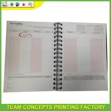 Bulk plain paper spiral notebooks