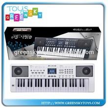 Musical digital 49 teclas del teclado del órgano electrónico