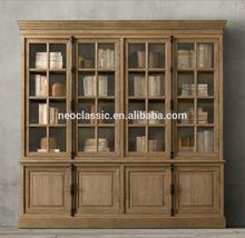 French Casement wooden Four-door Kictken Cabinets SC-W16