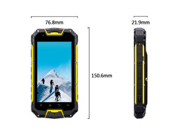 SNOPOW M8 MTK 6589 4.5 inch walkie talkie PTT 5 KM quad core android 4.2.2 ip68 waterproof rugged phone