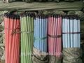 profesional de madera palo de escoba de madera de mango del cepillo con el certificado del ce