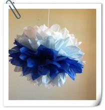 Beautiful Different Colors Tissue Paper Pom Poms Flower Balls