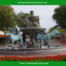 new product bronze outdoor horse statues