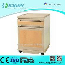DW-CB005 2015 modern bedside cabinet medical furniture made of plastic